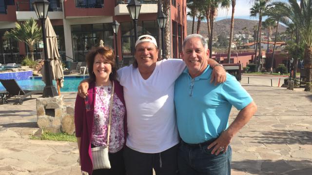 claudio and parents